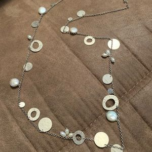 Pearl of a girl necklace